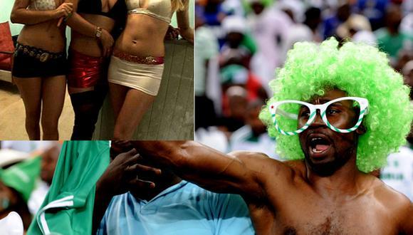 Trabajadoras sexuales listas para semana gratis de sexo con 'sele' nigeriana