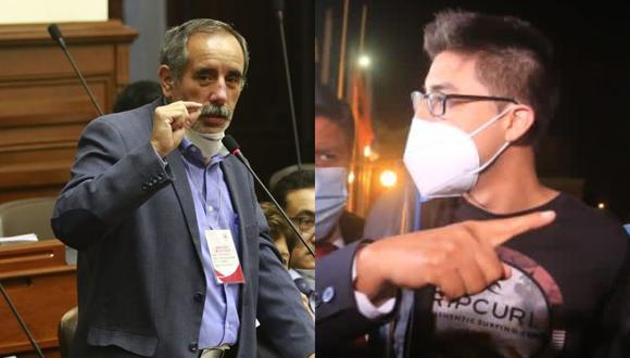 """El congresista, Ricardo Burga manifestó en PBO Digital que """"está evaluando"""" denunciar a Carlos Ezeta, aunque le gustaría que el joven lance un mensaje de """"No violencia""""."""