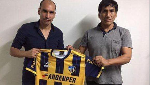 """Rainer Torres tras asumir Sport Rosario: """"Tengo ilusión de seguir"""""""