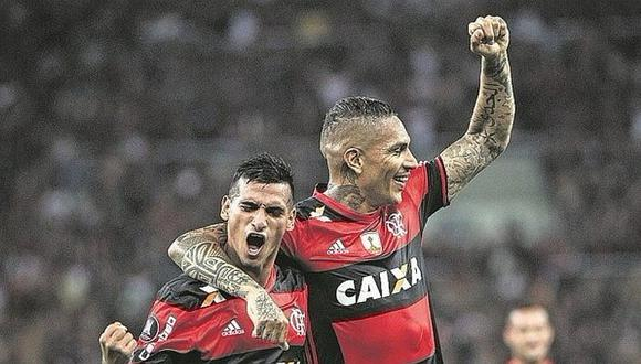 ¿Guerrero y Flamengo buscan extender contrato?