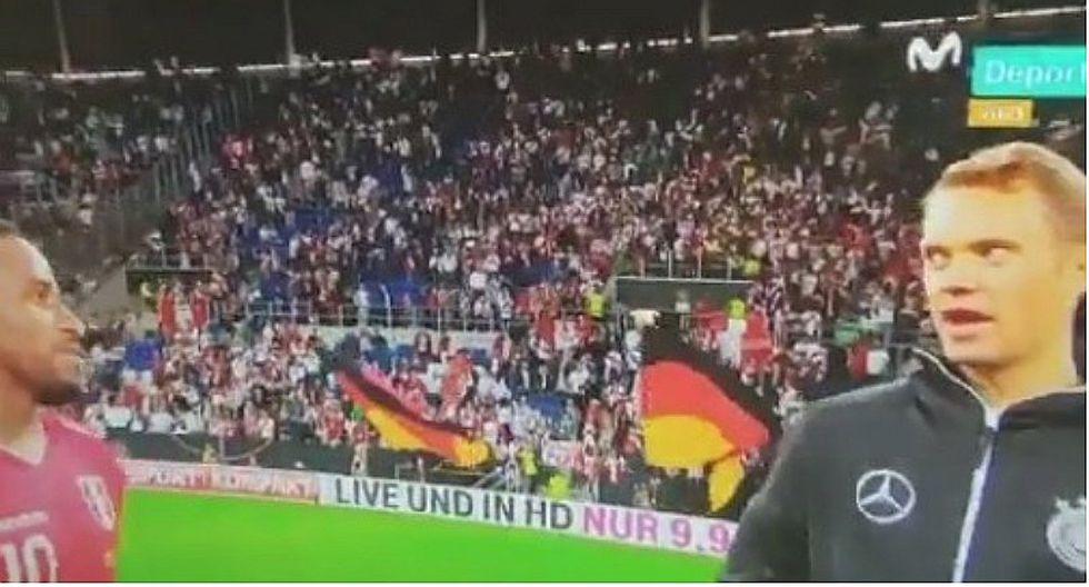 La conversación entre Farfán y Manuel Neuer tras el Perú vs. Alemania