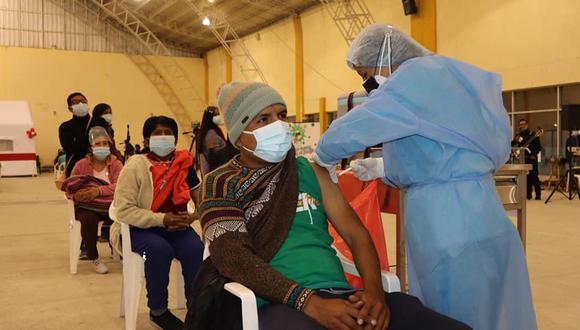 La Diresa espera que la población tome conciencia y complete la inoculación con las dos dosis para estar bien protegidos contra el coronavirus. (Foto: Diresa Junín)