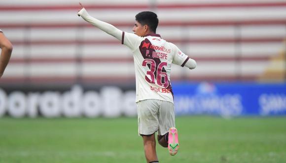 Piero Quispe anotó su primer gol en su carrera a Alianza Atlético. (Foto: Liga 1)