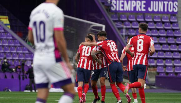 Atlético de Madrid vs. Valladolid: mejores imágenes del partido que define LaLiga Santander 2020-2021. (Foto: AFP)