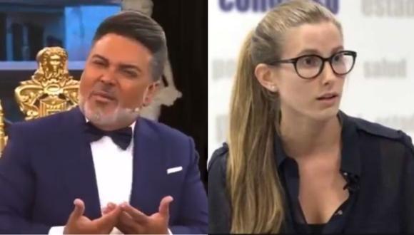 """La candidata al congreso Adriana Tudela aseguró que fue una represalia por no quererse tomar una foto con """"Chibolín""""."""