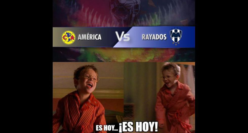 Los memes que calientan el América vs. Monterrey por la final de ida del Apertura de Liga MX. (Foto: Facebook)