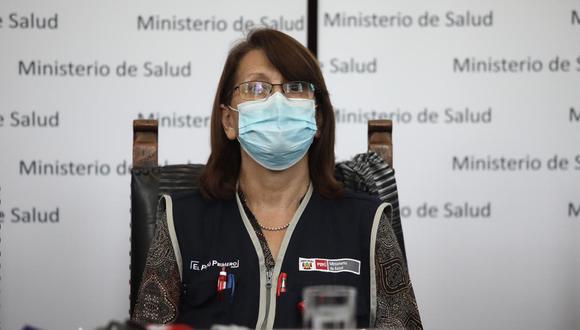 Pilar Mazzetti indicó que se hará reajustes también para mejorar el registro de casos positivos y sospechosos de COVID-19. (Foto: GEC)