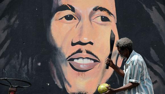 Bob Marley: Su hijo Ziggy publica un libro para celebrar su 75 cumpleaños. (Foto: AFP)