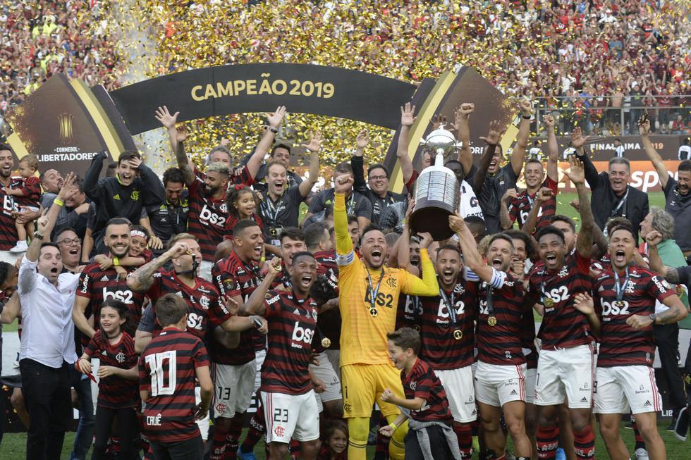 Flamengo, como campeón, integra el grupo A (Foto: Agencias)