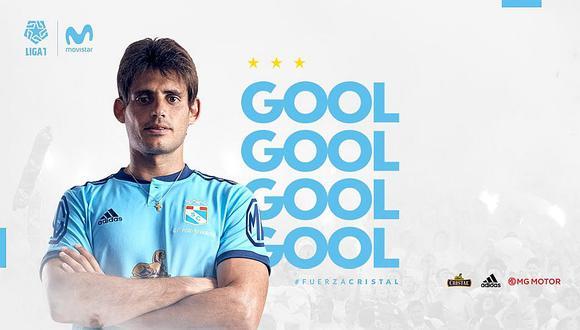 Alianza Lima vs. Sporting Cristal: Omar Merlo anotó de cabeza tras buena centro de Martín Távara | VIDEO