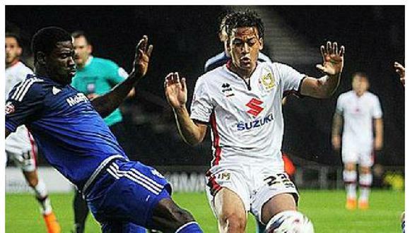 Cristian Benavente: ¿Le bajaron el dedo en el MK Dons?