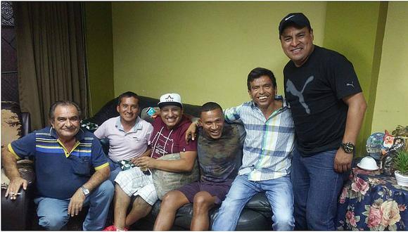 Perú vs. Brasil: 'Kukín' Flores y Ccahuantico se juntaron para ver el duelo