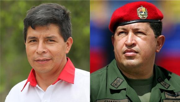 Diego Acuña comparó a Pedro Castillo con el dictador venezolano Hugo Chávez.