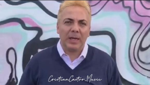Cristian Castro borró su cuenta de Instagram de forma sorpresiva. (Foto: Instagram).