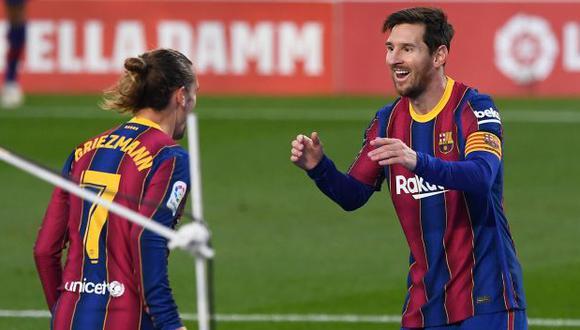 Barcelona vs. Osasuna: chocan en el Camp Nou por LaLiga de España. (Foto: AFP)