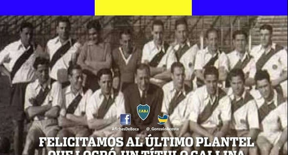 Hinchas de Boca Juniors se burlan del título de River Plate con divertidos Memes