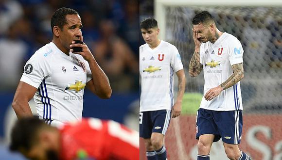 Cruzeiro 7-0 U de Chile: Chilenos lloraron tras histórica goleada [FOTOS]
