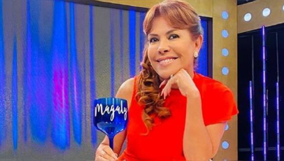 Magaly Medina retorna a ATV tras dar positivo a COVID-19. (Foto: @magalymedinav)