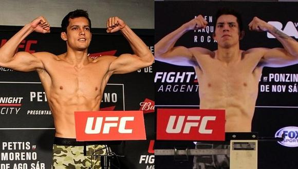 UFC Argentina con Bandenay y Pinedo: horarios y guía de canales de pelea en Buenos Aires
