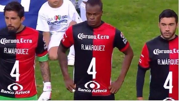 Compañeros del 'Rafa' Márquez sorprenden con este gesto
