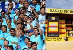 Barcelona vs Cristal | Mira la llegada de los hinchas rimenses al estadio Monumental Banco Pichincha (FOTO)