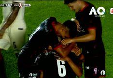 Universitario 1-1 Huracán | Golazo de Martín Ojeada para poner el empate en San Juan | VIDEO