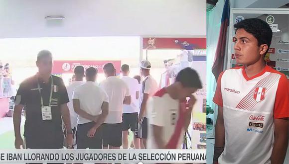 Jugadores de la selección peruana sub-20 al borde del llanto tras derrota