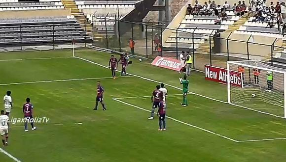 Universitario vs. Alianza Universidad: el error de Ramos que pudo ser el 1-0 de Hohberg   VIDEO