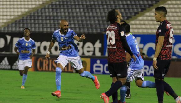Marcos Riquelme marcó un doblete. (Foto: Liga 1)
