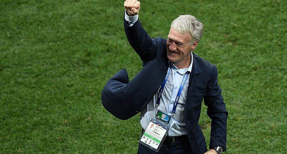 Didier Deschamps entró en la historia luego de ganar el Mundial
