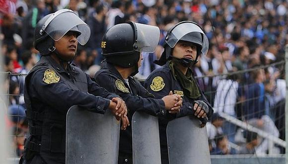 Cristal vs. Alianza: más de 1000 policías darán seguridad en segunda final