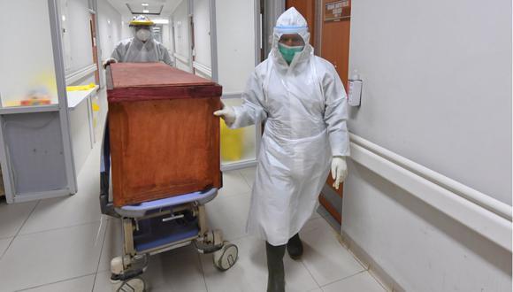 La cantidad de muertos en Estados Unidos asciende a 193.705 con 6.486.401 contagios. Las autoridades consideran que 2.434.658 personas sanaron. (Foto: ADEK BERRY / AFP)