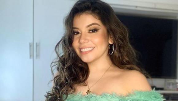 María Grazia Polanco hace frente a críticas por aparecer en TV tras muerte de su padre.  (Foto: @elgranshowperu)