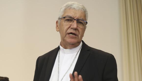 Monseñor Carlos Castillo se pronunció sobre la coyuntura en el país tras la vacancia presidencial de Martín Vizcarra. (GEC)