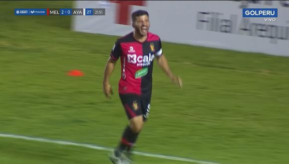 Melgar vs. Ayacucho FC: Bernado Cuesta pone el 3-0 en Arequipa | VIDEO