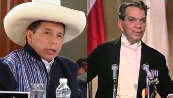 Usuarios de Twitter compararon a Pedro Castillo con el fallecido actor y humorista mexicano Cantinflas.