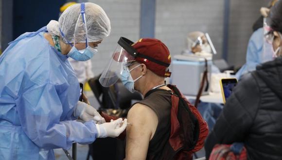 Vacunación a nivel nacional contra el coronavirus continúa avanzando. (Foto: Minsa)