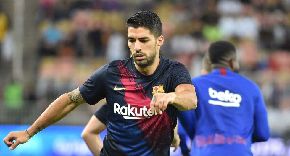 Barcelona confirma operación a Luis Suárez. (Foto: AFP)