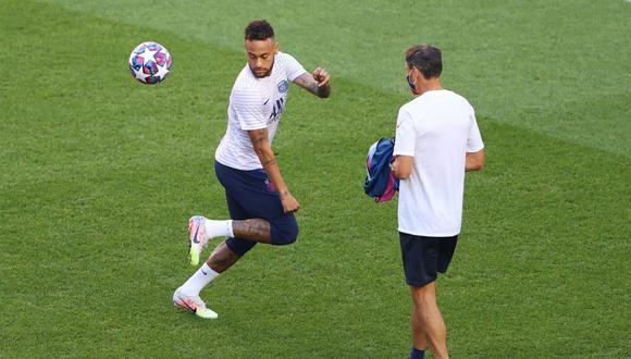 PSG con Neymar choca contra Leipzig en las semis de la Champions. El Bocón te cuenta en vivo y en directo todo lo que sucede desde le estadio Da Luz de Lisboa. FOTO: AFP