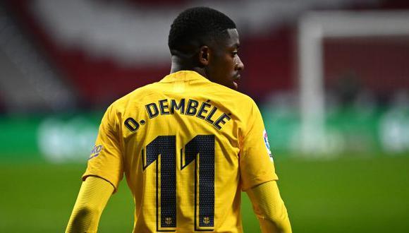 Ousmane Dembélé ha participado en 38 partidos de Barcelona en la actual temporada. (Foto: AFP)