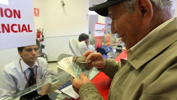 """El """"bono dignidad"""" de S/1.860 sería para afiliados y pensionistas de la ONP. (Foto: Andina)"""
