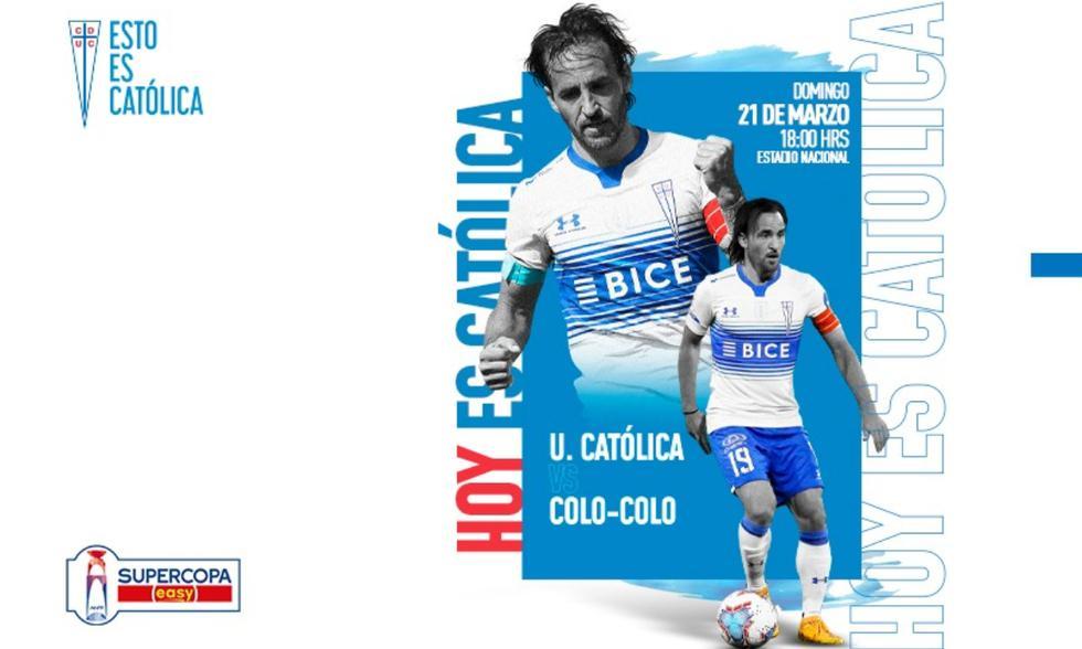 Colo Colo vs. Católica en vivo online por la Supercopa de Chile 2021, en directo. No te pierdas el minuto a minuto