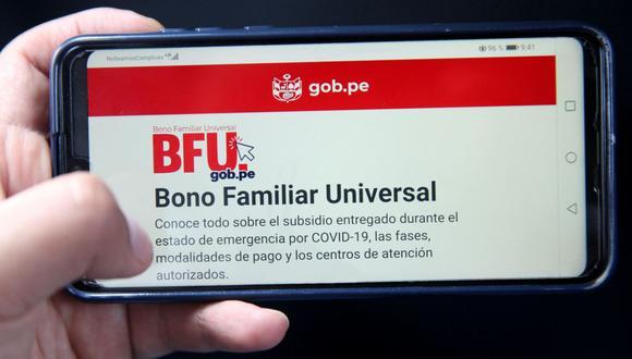 Revisa aquí el link oficial del Gobierno para saber si te encuentras en la lista de beneficiarios del Bono Universal. (Foto: Andina)