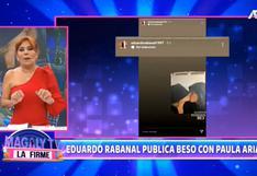 """Magaly Medina y su pronóstico sobre relación de Paula Arias y futbolista: """"No es que seamos aves de mal agüero"""""""