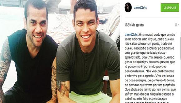 """Copa América 2015: Dani Alves """"explota"""" y arremete contra hinchas brasileños [VIDEO]"""