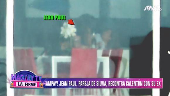 Pareja de Silvia Cornejo, Jean Paul Gabuteau, es captado besándose con la madre de su otro hijo. (Foto: Captura Magaly TV: La Firme)
