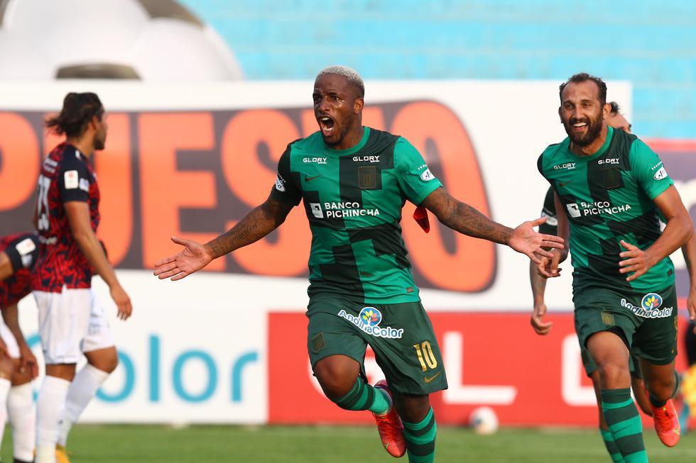 Jefferson Farfán anotó su primer gol en la presente temporada (Foto: Liga 1)
