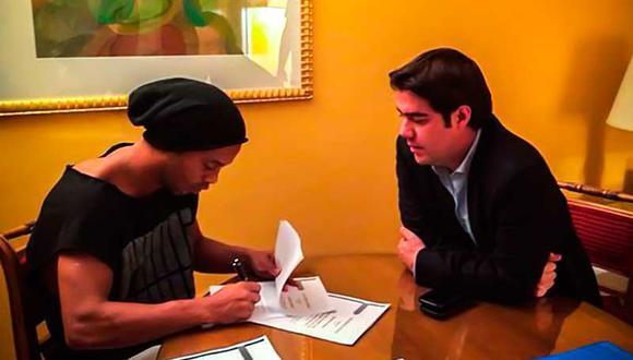 Ronaldino explicó porque escogió el Querétaro de México