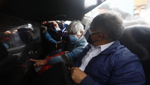 Iris Yolanda Quiñonez Colchado fue condenada el 2006 a 28 años de prisión por el delito de terrorismo. Sin embargo, al año siguiente se declaró nula dicha sentencia y posteriormente fue liberada al vencer el plazo de la prisión preventiva de 36 meses. (Foto: Eduardo Cavero / GEC)