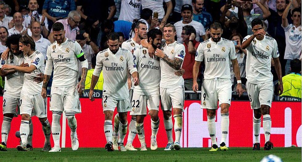 Real Madrid goleó 3-0 a Roma por fase de grupos de la Champions League
